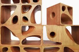 wooden cubes furniture. Cat Furniture 5 Wooden Cubes E