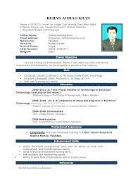 Curriculum Word Microsoft Word Sample Resume Templates Curriculum Vitae Download In