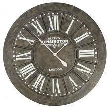 giant station kensington wall clock