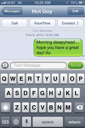 funny good morning texts for your crush