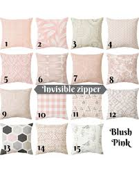 blush colored pillows.  Colored Blush Pink Pillow Cushion Pink Decorative Pillow Cover Light  Cushion Cover To Colored Pillows P