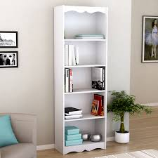 96 inch tall bookcase. Perfect Tall Display Product Reviews For Hawthorn Frost White 5Shelf Bookcase On 96 Inch Tall E