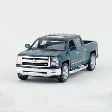 Silverado Pickup trucks Green 1/46 alloy models model car Pickup ...