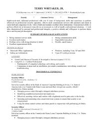 Sample Resume Objectives For Entry Level Customer Service Best