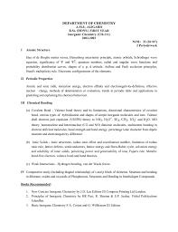 Department Of Chemistry Aligarh Muslim University