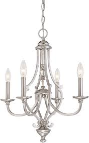 Minka Lavery 4 Light Minka Lavery Chandelier Lighting 3331 84 Savannah Row 4 Light 240 Watts Brushed Nickel