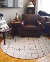 round area rug