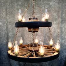 large image for chandelier living room double wagon wheel chandelier with 11 chimney lights swag hook
