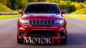 2018 jeep 707 hp. interesting 2018 suv  2018 jeep grand cherokee trackhawk 62 v8 707 hp l exterior  interior on track in jeep hp