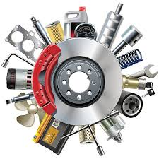 auto parts clip art.  Art Vector Car Spares Concept With Disk Brake Vector Art Illustration Intended Auto Parts Clip Art