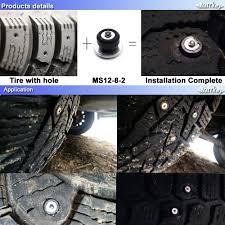Marrkey <b>100PCS 8mm</b> Spikes for <b>Tires</b>/Winter <b>Tire</b> Spikes/<b>Car Tire</b> ...