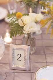nice wedding table numbers frames p2025495 reception table number in silver frame small picture frames for
