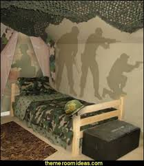 Boys Army Bedroom Ideas