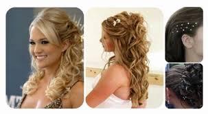 Chignon Mariage Cheveux Mi Long Bouclés