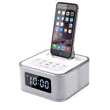 S1 Pro Alarm Clock Radio System Multifunction Bluetooth Subwoofer Speaker  Charging Docking Station for iPhone 5 5s 6 6s Plus-in Portable Speakers  from ...