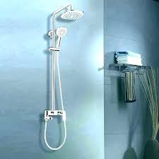 double shower head spa bronze first mate system delta