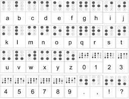 Challenger Braille Printable Suzannes Blog