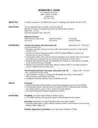 Study Abroad Resume Sample Experience Resume Example Examples And Study Abroad Sample College