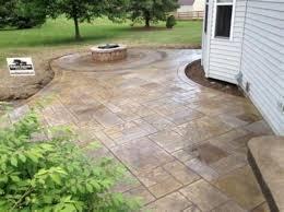 impressive 25 stamped concrete patio