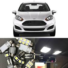 2013 Ford Fusion Interior Light Kit Us 12 51 10 Off 12pcs White Led Light Bulbs Interior Package Kit For Ford Fusion 2010 2011 2012 2013 2014 Map License Plate Light Car Styling In