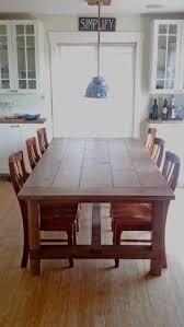 farm table dining set cherry house