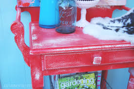 shabby chic red furniture. shabby chic furniture here is a preview of what i made figured it was christmas and this would look great with our decor the good thing about making red e