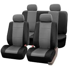 pu leather seat covers full set