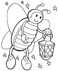 firefly coloring page beautiful is species of bugs pages printable template meaning in telugu