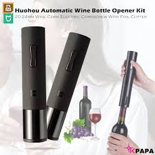 Mijia Youpin Huohou <b>Automatic</b> Smart <b>Wine</b> Bottle Opener | Shopee ...