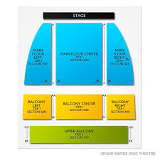 Grand Rapids Civic Theater Seating Chart Grand Rapids Civic Theatre Tickets
