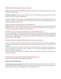 Introduction To Entrepreneurship Summary Lecture 1 Introduction To Entrepreneurship Studocu