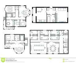 office space floor plan. Fascinating Classic Hand Drafted Drawings Modern Office Architect Plan Space Floor