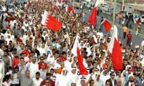 Image result for مردم بحرین آزادی رهبران دربند خود را یکپارچه فریاد زدند