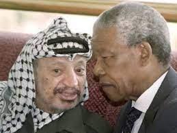 مانديلا مناصر الفلسطينيين ومثلهم في النضال