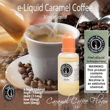 It is going to probably taste way better than the coffee you get from your local coffee shop. 30ml Caramel Coffee Flavor E Liquid