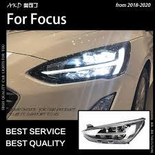 Khoác Dù Kiểu Dáng Xe Cho Xe Ford Focus Đèn Pha 2019 Mới Tập Trung 5 Đèn  Pha LED Năng Động Tín Hiệu Đèn Led Drl Trốn Bi Xenon tự Động Phụ