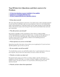 interview for hr position questions and answers top 20 interview questions and their answers for freshers 1 638 jpg cb 1381329085