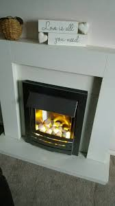 electric fireplace from homebase