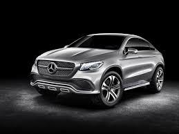 Ils sont à la fois fonctionnels et confortables. Mercedes Benz Concept Coupe Suv