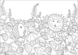 Rainbow Fish Coloring Page Printable Photo 13475 Gianfredanet