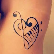 Motiv Tetovani Hudba 2jpg Motivy Tetování Vzor Tetování