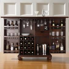 interior sterling bar cabinet with wine fridge ideas bar cabinet design layout featuring side