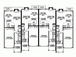 One Bed Quadplex Plans Joy Studio Design Best - Building Plans ...