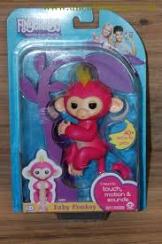 Wowwee Fingerlings Interactive Baby Monkey Toy Bella uncutfishing.co.uk