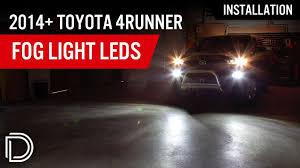 2018 Toyota 4runner Fog Light Bulb Size Fog Light Leds For 2010 2019 Toyota 4runner Pair