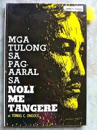 book cover ng noli me tangere high