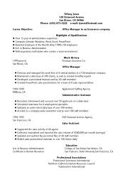 Resume Examples, Office Manager Insurance Qualifications Highlight Work  History Administrative Assistant Newsletter Create A Resume