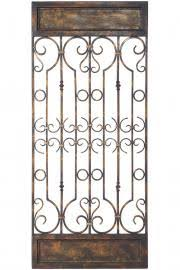 iron gate wall art