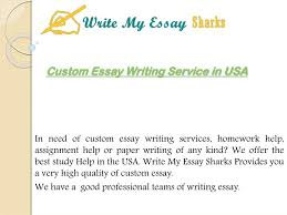 Ppt Custom Essay Writing Service In Usa Powerpoint