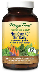 MegaFood <b>Men Over 40</b>™ <b>One</b> Daily® -- 90 Tablets - Vitacost